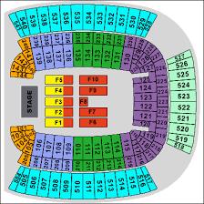 Heinz Field Concert Seating Chart Best Seat 2018