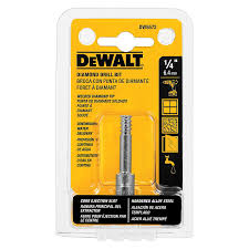 diamond bit. dewalt dw5572 1/4-inch diamond drill bit - jobber bits amazon.com