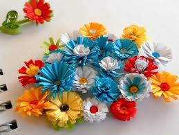 Make Flower With Paper How To Make Quilled Fringed Flowers Paper Quilling Designs