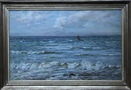joseph henderson scottish victorian seascape richard taylor fine art