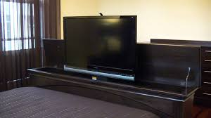 TV Lift Foot Board YouTube - Bedroom tv lift cabinet
