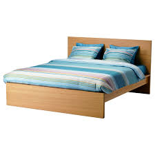 ikea king size bed. Beautiful King IKEA MALM Bed Frame High Real Wood Veneer Will Make This Age  Gracefully Intended Ikea King Size Bed