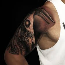 The Rock Shows Off His Innovated Tattoo