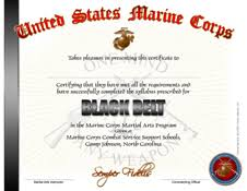 Martial Arts Certificate Templates Print Media
