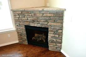 corner stone fireplace stone fireplace ideas photos corner fireplace gas photo 2 of 9 corner stone