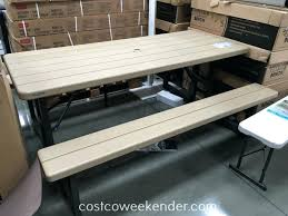 lifetime tables costco bench table childrens and chairs folding lifetime tables costco folding