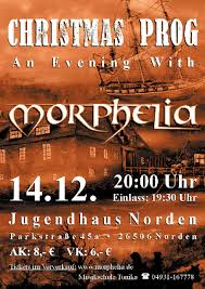 prog an evening with morphelia december 14th 2012