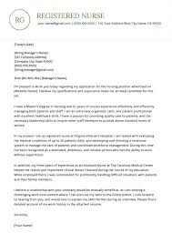 How To Write A Nursing Cover Letters Nursing Cover Letter Example Resume Genius Resume