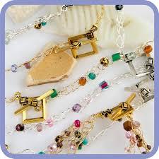 ano crochet wire necklace or bracelet