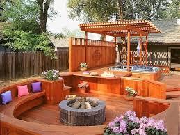 65 epic hot tub deck plans ideas for