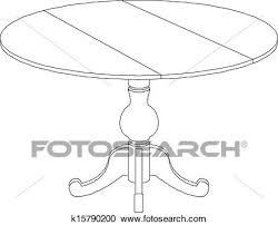 coffee table drawing. Plain Table Round Table Drawing Inside Coffee Table Drawing