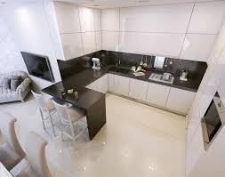 modern kitchen black and white. Small Modern Kitchen Black And White Theme T