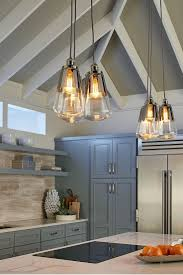 ideas for kitchen lighting fixtures. Each Light Fixture In The Modern Waveform Pendant Collection By Feiss Is An Elegantly Simple Ideas For Kitchen Lighting Fixtures E