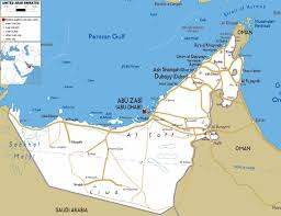 large abu dhabi region maps for free download and print  high