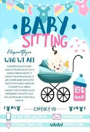 Sample Babysitting Flyer Image On Www Free Babysitting Flyers Templates Samples And Ideas