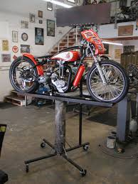 Motorcycle Display Stand PreLong Beach Show Bikernet Thursday News for December 100th 100 29