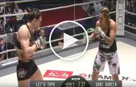 Gabi Garcia vs Lei'D Tapa Full Fight ...