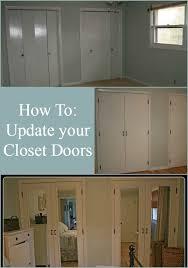 Image Door Makeover Pinterest Diy Closet Doors Makeover Diy Closet Doors Closet Door