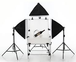 pro photo studio softbox tent 4x 135w daylight lighting