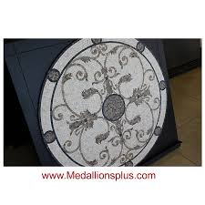 60 mosaic tile floor medallion