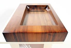 wooden basin hrano
