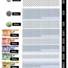 Ipon Challenge Chart Peso Sense Ipon Challenge Coin Money Saving Challenge