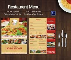 58 Awesome Free Pizza Menu Templates Template Free