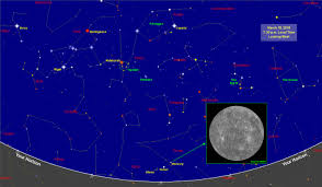 Astronomical Chart Of Stars And Planets Sky Map Star Chart March 2018 Old Farmers Almanac