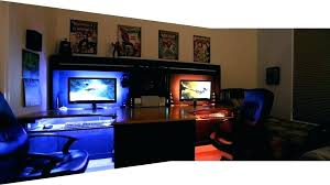 video game room furniture. Game Room Setup Gaming Bedroom Ideas Furniture Modern And Sleek Video A
