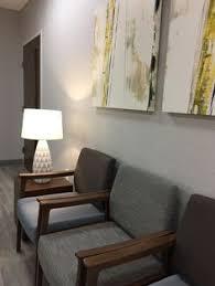 office by design. alexis pearl design texas vascular associates modern doctors office grey arden art by r