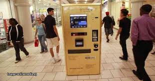Gold Vending Machine Locations Extraordinary WTF There Is A Vending Machine That Sells THIS In Singapore