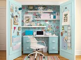 image of computer desk organization ideas