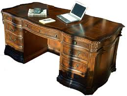 Office world desks Crown Mark Old World Executive Serpentine Desk Full View Nytexas Mahogany And More Desks Old World Executive Serpentine Desk