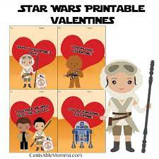 Star wars i love you card. Free Printable Star Wars Valentine S Day Cards Centsable Momma