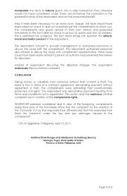 Martial law brought economic problems and social conflicts which led to the country's economic downfall. Supplemental Position Paper Page 3 Estafabohol