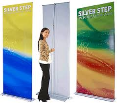 Retractable Display Stands Retractable Banners Stands Custom Printed Roll Up Banners Signs 7