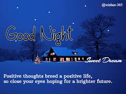 Positive Quotes Positive Good Night Quotes