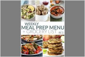 Weekly Lunch Prep Weekly Meal Prep Menu No 1 The Real Food Dietitians