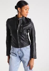 high quality superdry new malibu leather jacket black for women w9c4246 larger image