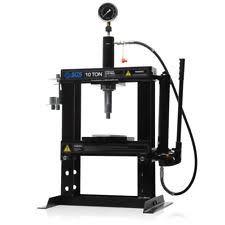 10 tonne work bench hydraulic press with mandrels