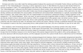 Character Analysis The Yellow Wallpaper - Wallpapersafari
