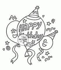 Small Picture 1st Birthday Card with Funny Frog coloring page for kids holiday