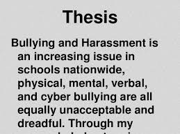 cyberbullying research paper thesis  good essay 250 words