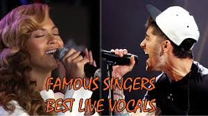 Best Singers Famous Singers Best Live Vocals Youtube