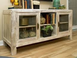 cabinet console cabinet with glass doors luxury check out a neutral wood cottage style credenza