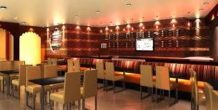 Indian Restaurant Interior Design Minimalist Cool Decorating