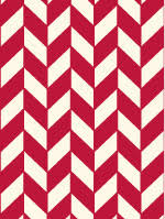 ... An example of a chevron pattern