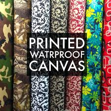 outdoor furniture fabric by the yard printed canvas fabric waterproof outdoor wide 0 denier per yard