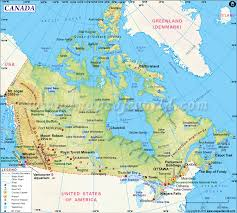 canada map  map of canada