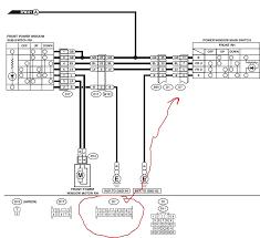 diy power window switch info readingrat net Diy Power Window Wiring Diagram forester the power window switch wiring harness passenger locks GM Power Window Wiring Diagram